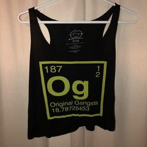 Goodie Two Sleeves OG Black Tank